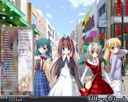 Аниме Темы для Windows XP  часть первая