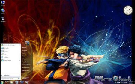 Наруто Аниме темы для Windows 7 Naruto